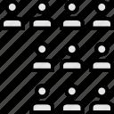 data, graphics, info, ten icon