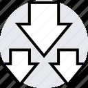 data, graphics, three icon