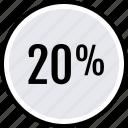 info, twenty, percent