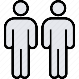 info, two, users icon