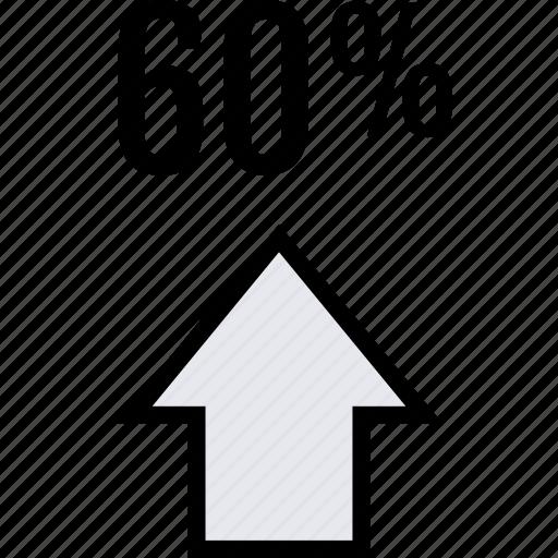 info, sixty, up icon