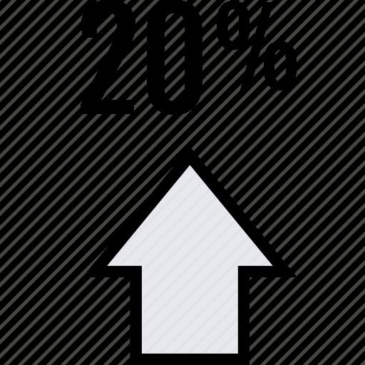 info, twenty, up icon