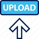 arrow, high, up, upload icon