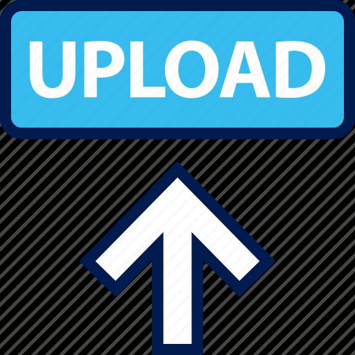 arrow, high, up, upload icon