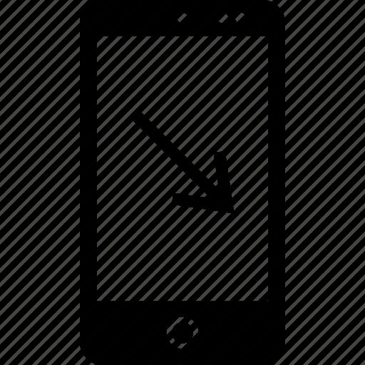 arrow, pointing, web icon