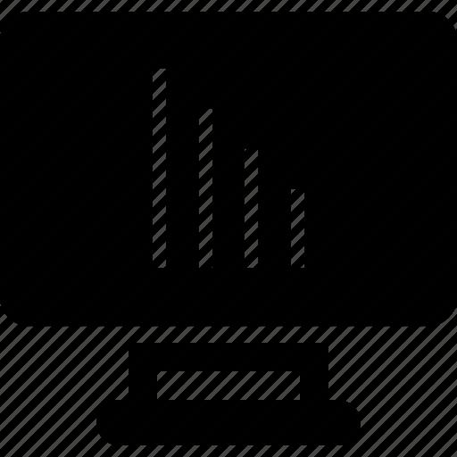 bars, down, web icon