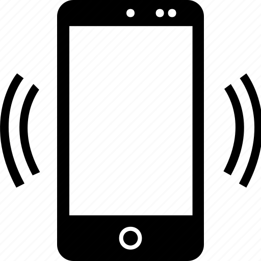 activity, cell, phone, signal icon