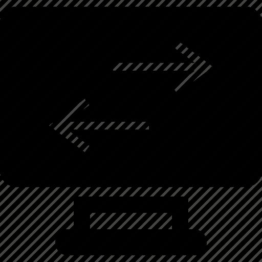 left, right, web icon