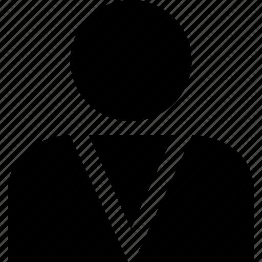 one, person, user icon