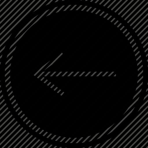 left, point, web icon