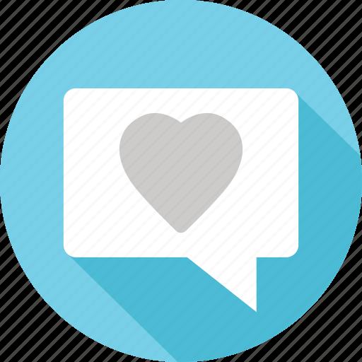 Heart, love, sexting, valentine icon - Download on Iconfinder