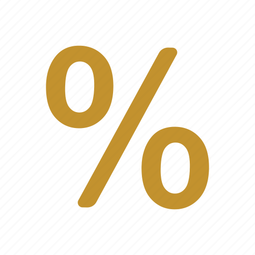 interest rate, pct, percent, percentage, profit, ratio icon