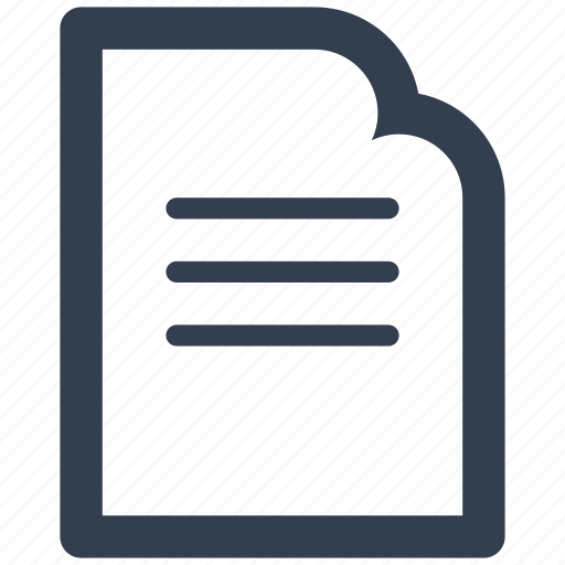 document, documents, file, files, finance, paper, statement, text icon
