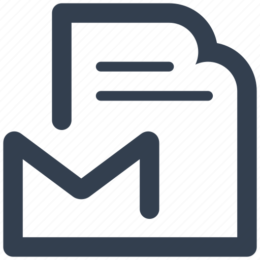 document, e-mail, email, envelope, file, files, letter, mail, message, online, page, paper, sheet, subscribe icon