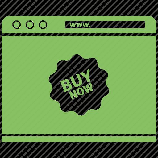 online buy, shopping web, web, web layout icon