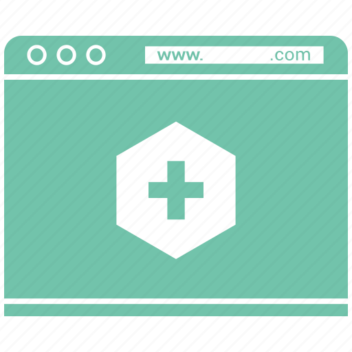 blog, browser, internet, medical, online, web icon