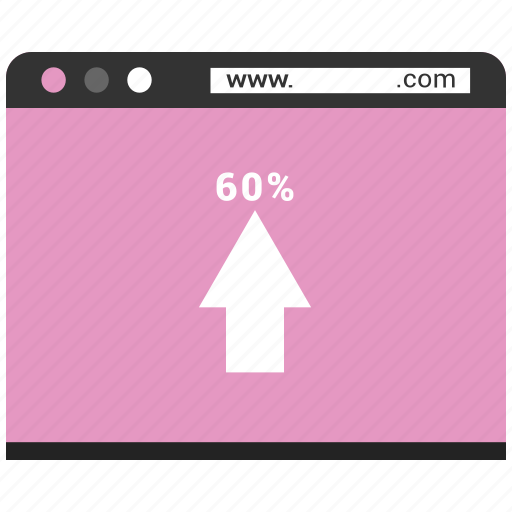 browser, infographic, up, web, webpage, website icon