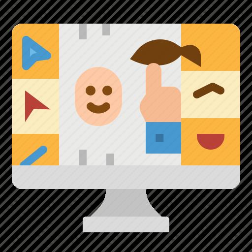 Custom, graphics, illustration, illustrator, vector icon - Download on Iconfinder