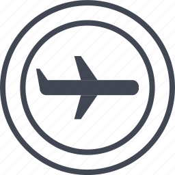 air, airline, airplane, business, expense, travel icon