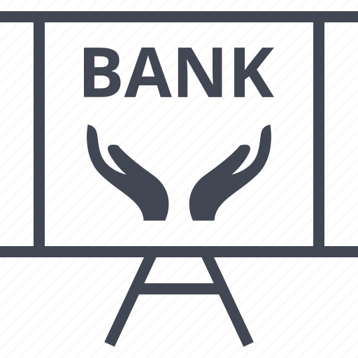 bank, banking, hand, hands, money, online, web icon