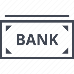 bank, banking, bill, business, money, note, wealth icon