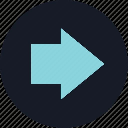 arrow, data, infographic, next icon