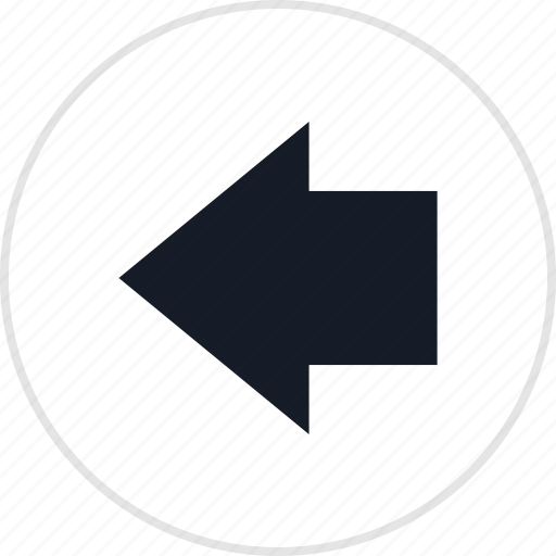 back, info, left, point icon