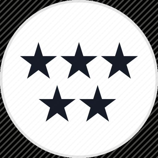 data, five, info, special, stars icon