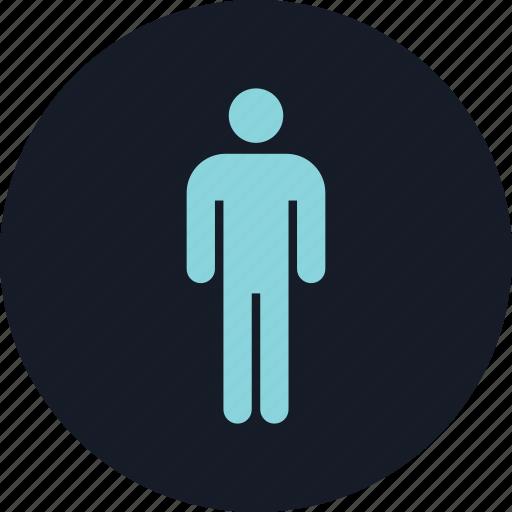 data, infographic, man, single icon