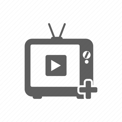 Add Channel Monitor Television Tv Youtube Icon