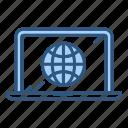 global, internet, network, website icon