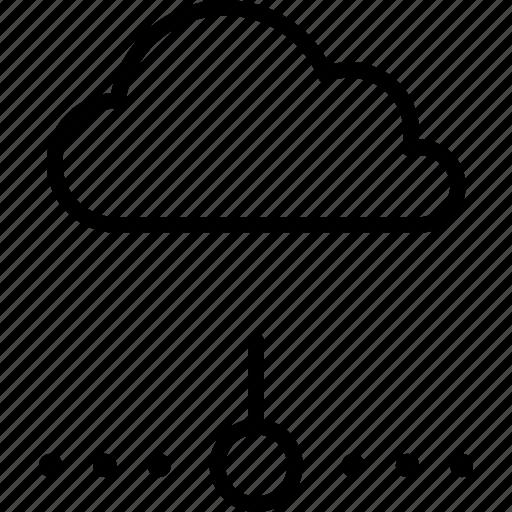 cloud, computing, network, offline, server icon