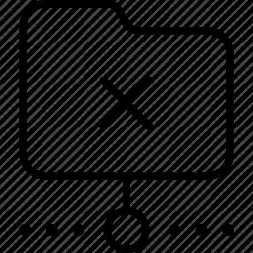 error, folder, network, offline, synchronizing icon