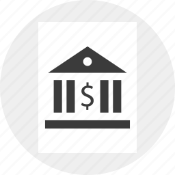 building, business, irs, law, money, taxes icon