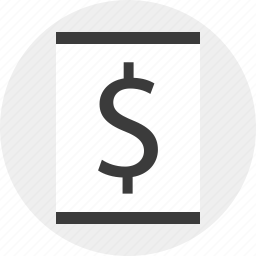 blog, dollar, online, page, sign, web icon