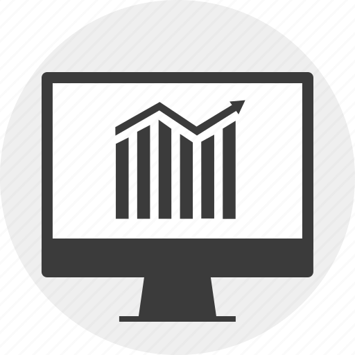 business, growing, online, website icon
