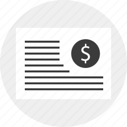 business, money, report, results icon