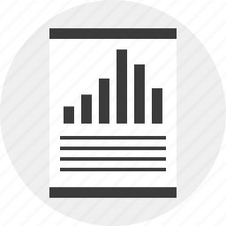 business, data, money, report, results icon