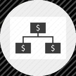 group, marketing, money, network icon