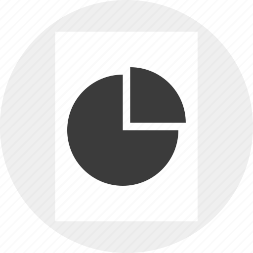 business, chart, data, pie, results icon