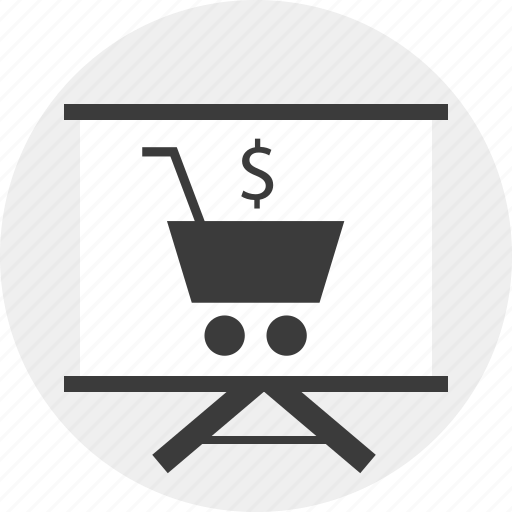 board, cart, commerce, e, planning, shopping icon