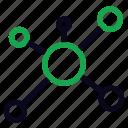 atom, education, math, physics, school, science icon