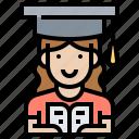 course, education, graduation, knowledge, study icon
