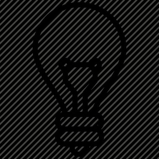 bulb, idea, innovation, lamp, light icon