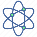 atom, education, network, school, science icon