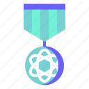 achievement, badge, emblem, reward, veteran icon
