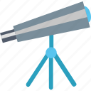 astronomy, education, learning, science, study, telescope, universe icon