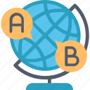 education, foreign, language, learning, speaking, study icon