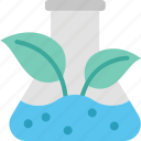 experiment, flask, natural, nature, plant, sciences, substance icon