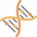 biology, chemistry, dna, education, laboratory, research, science icon